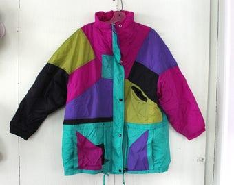 GITANO color blocked jacket / size- large