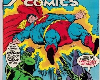 Action Comics #477 - DC Comics - November 1977 - Grade VG