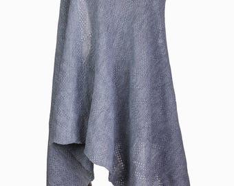 oversized scarf, wedding shawl, long scarf, Women scarf, winter scarf, Winter Shawl,knit scarf, knit shawl, gray knit scarf,