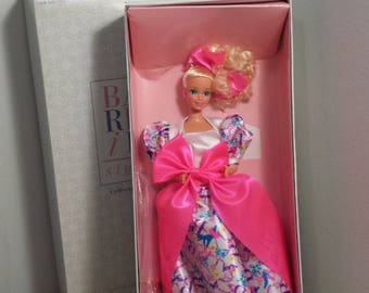 Barbie Style Collector Doll, Mattel Limited Edition 1990 Barbie Doll, Like New in Box