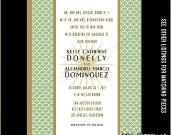 GOODHUE custom printed Wedding Invitations