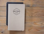 Christian Men's Journal - Man Journal - Geometric Christian Journal - Unisex Christian Journal - Dwell Deeply Journal - Quiet Time Journal