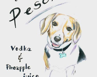 Signature Drink Sign-Featuring your pet..
