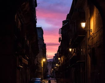 Sunset in Palermo