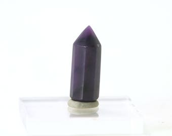 SUGILITE SUGALITE Luvulite, Lavulite, Royal Azel, Royal Lavulite, Royal Lazelle- Polished Point - High Energy - Mineral Specimen