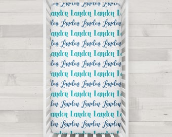 Personalized Crib Sheet - Design your own crib sheet - Made by moms in USA