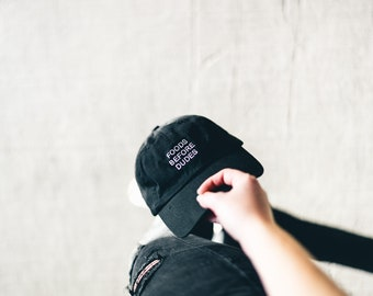 Foods Before Dudes Dad Cap Low Profile Hat **Free Domestic Shipping**