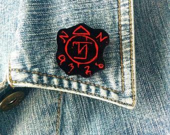 Supernatural pin badge