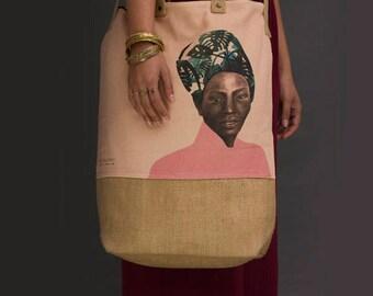 canvas handbag, canvas crossbody bag, Market bag, Large Travel Bag, Tote bag, Vegan Bag, Jute bag, big tote bag, large bag, canvas tote bag