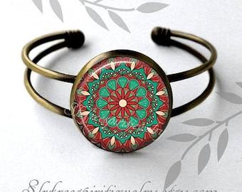 Boho Jewelry, Bohemian Necklace & Earrings, Mandala, Ethnic, India, Boho Style Accessories, decorative, Artistic, Unique, Gift for Women