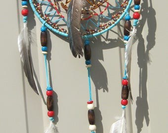 5 in Sky Blue Dreamcatcher