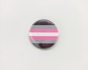 "1.5"" Demigirl Button Demigirl Pride Button Demigirl Flag Button Demigirl Pride Flag Button Transgender Pride Gay Pride LGBTQA LGBT"