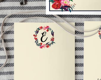 Notecards * Personalized Notecards Free Customization Monogrammed