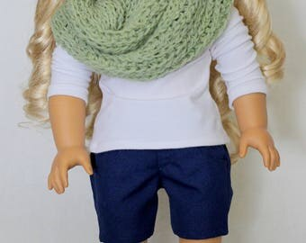 Navy Blue Shorts to fit like American Girl Doll Clothes, Doll Clothes,