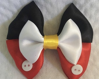 Mickey Mouse 2.5 Inch Hair Bow