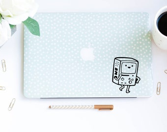 Adventure Time Decals BMO Decal Beemo Decal Computer Decals, Car Decals, MacBook Decals