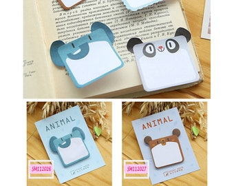 Animal Elephant/Bear/Panda/Sheep Post IT Notes Sticky Memo