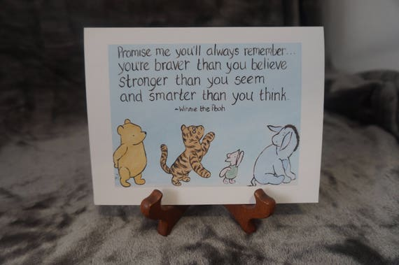 Encouragement card winnie the pooh greeting card surgery like this item m4hsunfo