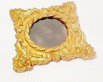 vintage gold wall mirror small wall mirror small decorative mirrors wall mirrors decorative