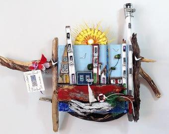 Wooden Houses - Exclusive artwork - 454