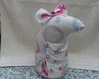 SALE.....Doorstop   Mouse   Fabric