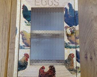Chicken Egg Storage Box 12 eggs