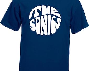 The Sonics T-Shirt - Garage Rock, 1960's, Retro, Various Colours