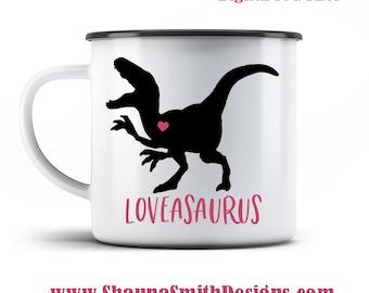 Loveasaurus SVG - Valentine SVG - Kids Valentines Day T-shirt - Valentines Day SVG - Dinosaur Svg - Svg Files for Silhouette - Cricut Svg