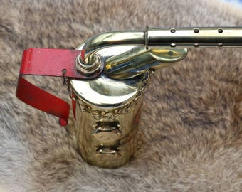 Vintage Brass blow torch from Lenk Mfg Co