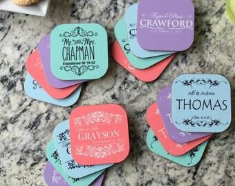 Personalized Designer Coasters - Set of 4