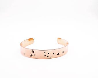 Scorpio bracelet - Zodiac bracelet - Astrology bracelet - Scorpio jewelry - Zodiac jewelry - Scorpio constellation - Astrology jewelry