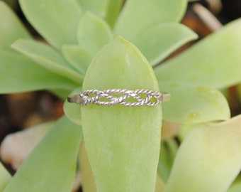 Little ring for girls in sterling silver