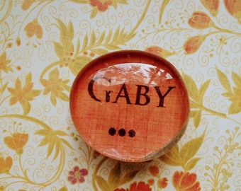 Personalized Office Magnets ; Cabochon Magnet; Made to Order,Glass Magnets; Decorative Magnets; Custom Magnets; Custom text; free shipping