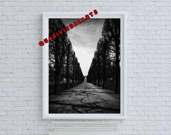 A Walk In The Park Print from QuasiVisualArts