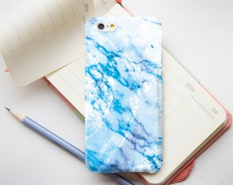Blue Marble iPhone 7 Plus Case iPhone X Marble Case iPhone 6 Case For Samsung S7 iPhone 8 Case For Samsung Galaxy S6 Edge Case PP1144