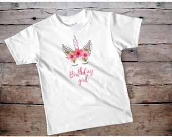 unicorn shirt, unicorn birthday shirt, girl unicorn shirt, kids unicorn shirt, unicorn birthday shirt for girls, girl unicorn birthday shirt