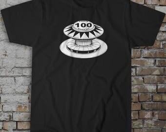 Pinball Bumper T-Shirt - Beautiful Hand Drawn Original Design - EM Pinball Lovers