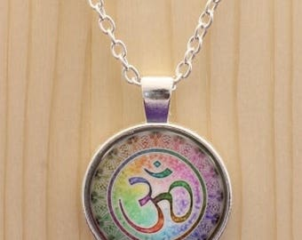 Ohm necklace / Om  necklace / Namaste