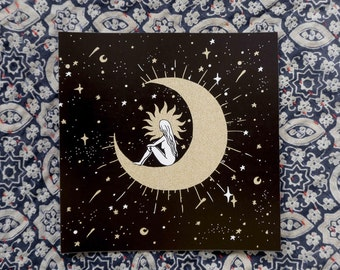 Celestial Dreams, Moon art