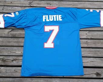 Vintage 90's Starter Buffalo Bills #7 Doug Flutie Jersey Made in Canada large