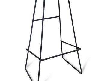 Industrial stool/ bar stool/counter/breakfast high stool/kitchen    Beech/Oak/Walnut/Ash model no.2