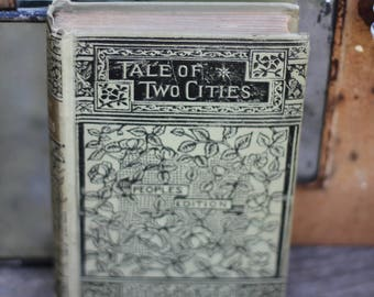 Antique Tale of Two Cities Book with Beautiful Cover