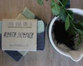 Mint soap, natural artias...