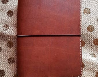 Travelers Notebook WILD BROWN,Supreme, Leather Journal,Travel Journal, Australian Leather, Teacher Diary