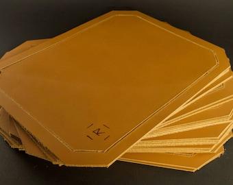 Rhodes Premium Leather Tobacco Mat