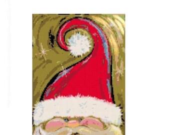 Secret Santa Cross Stitch Chart
