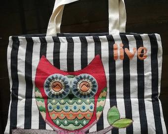 cotton bag 100% - Tote Bag - book bag - book lover - library bag - heavyweight cotton bag - bookworm - hand bag