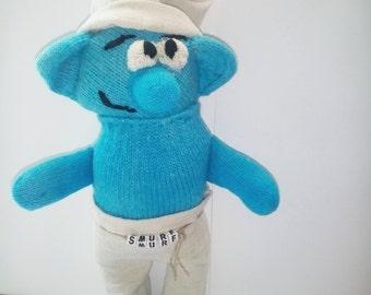 Bērnu rotaļlieta/Dāvana bērniem/adīta rotaļlieta/rūķu manta/filmu varonis/zila rotaļlieta/Stuff bērnu rotaļlieta/mīksta rotaļlieta/Cute
