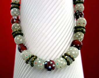 Vintage - venetian  trading beads from Westafrica