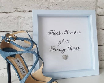 Glamorous box frame. Dressing room decor- perfect for stylish homes and fashionistas.